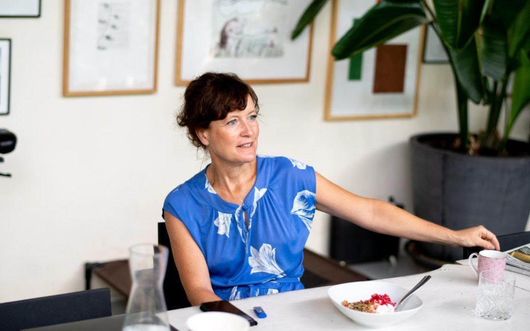 Interview with Danaë Delbeke, CEO